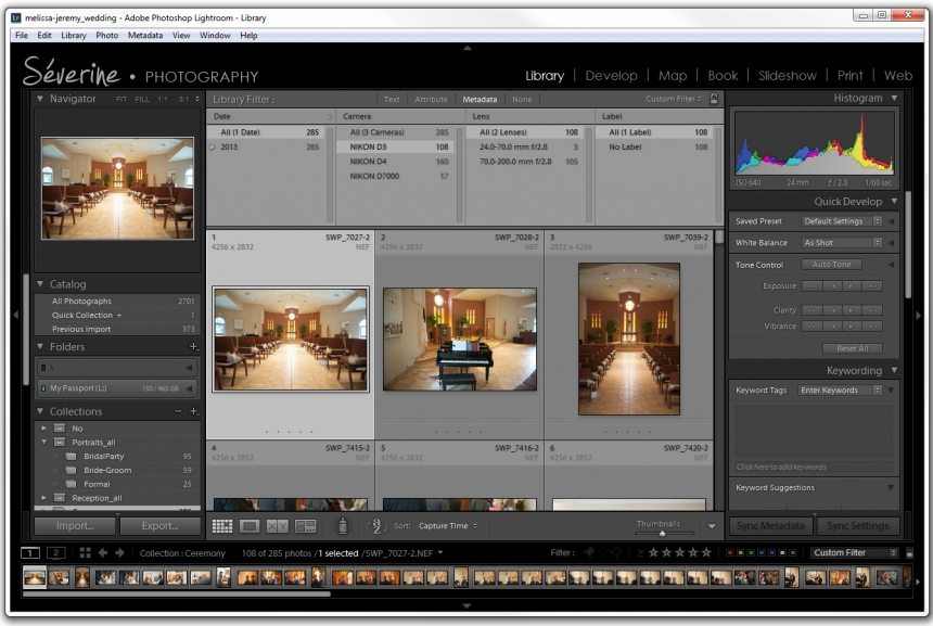 Severine Photography | How to synchronize your capture time in Lightroom