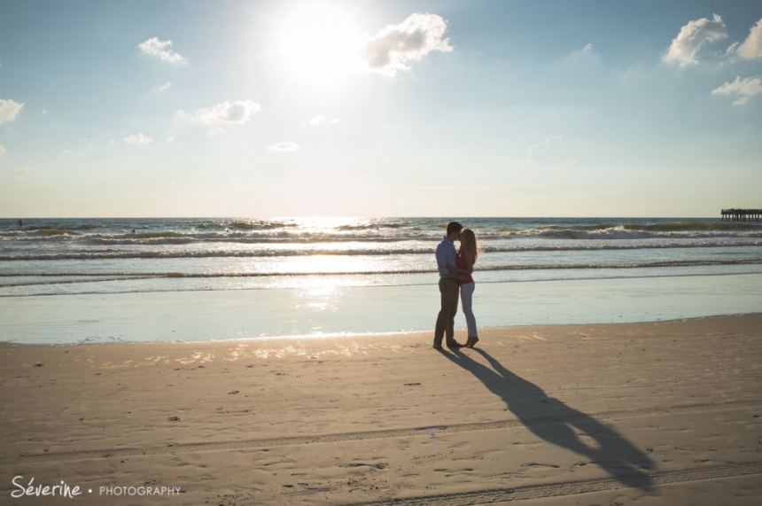 Engagement photos Jacksonville Beach