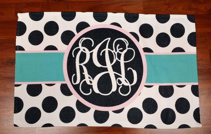 Jacksonville Wedding Photographer - monogram rug