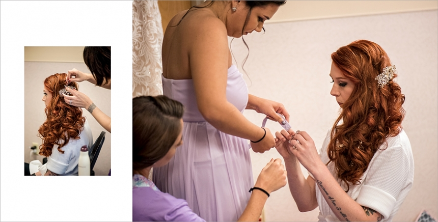 Lavender Themed Wedding